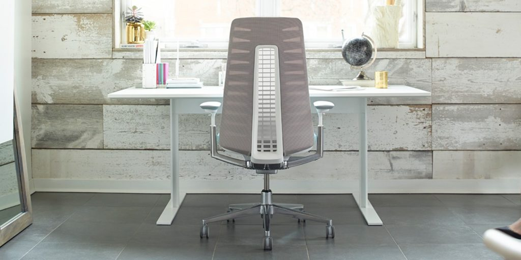 Haworth office chair ergonomics