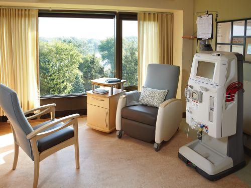 Healthcare examination room setup