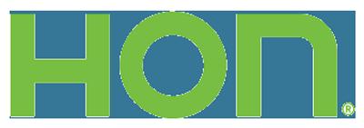 Hon logo green
