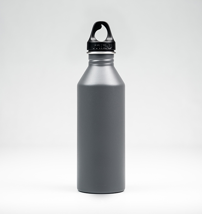 Plain metal water bottle promo item